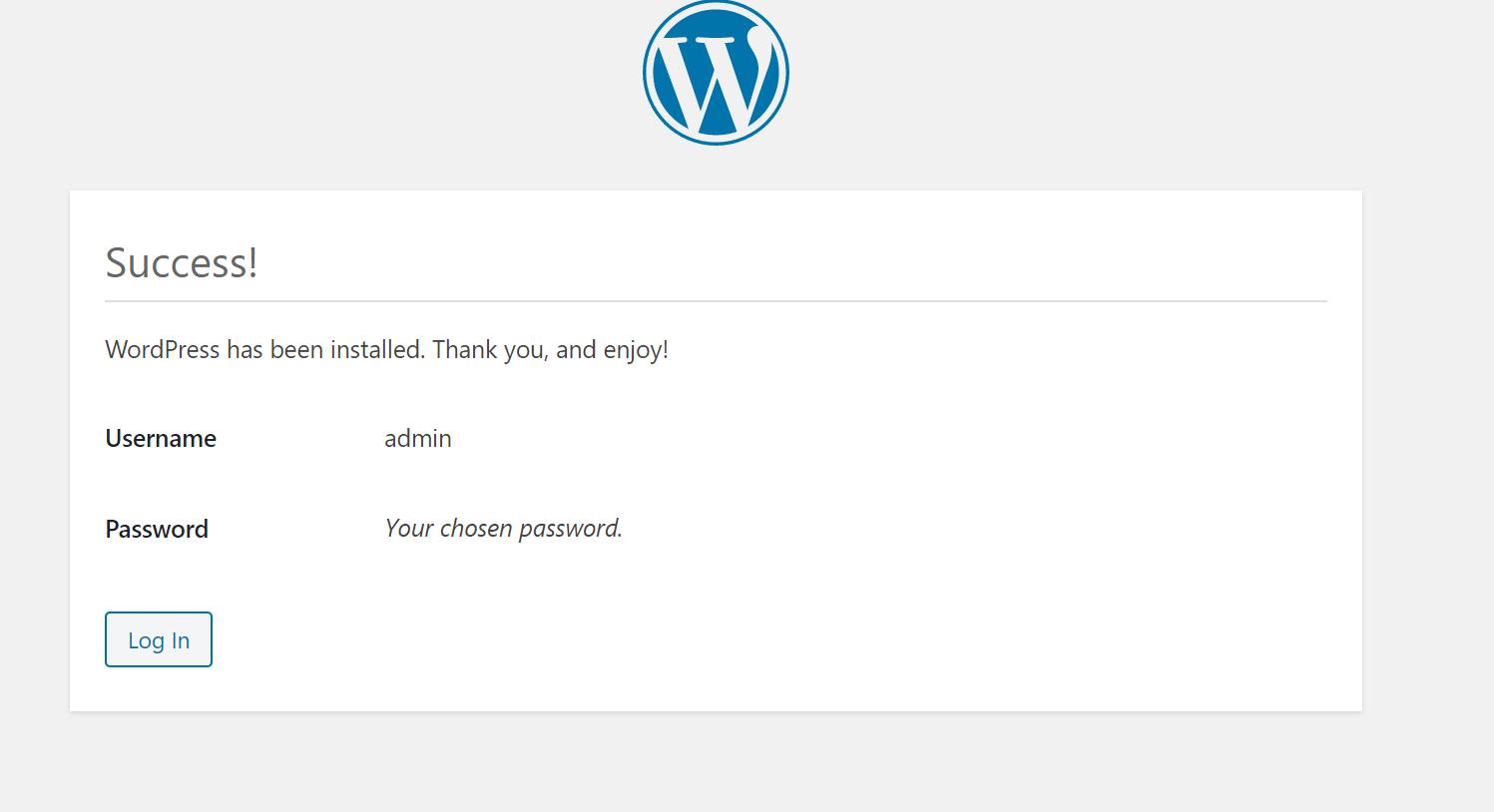 利用docker部署一个wordpress