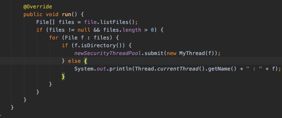 Java的方法中有线程递归,不懂得用什么方法求运行时间