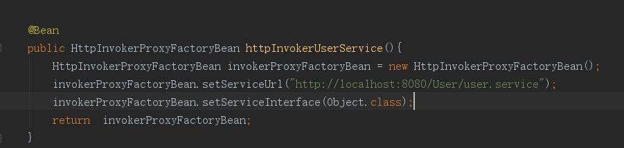 HttpInvokerProxyFactoryBean  中是否可以设置代理IP和端口来访问外网,这个项目是在内网运行的
