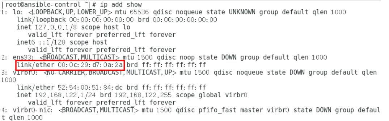 Centos7 配置静态ip及问题处理
