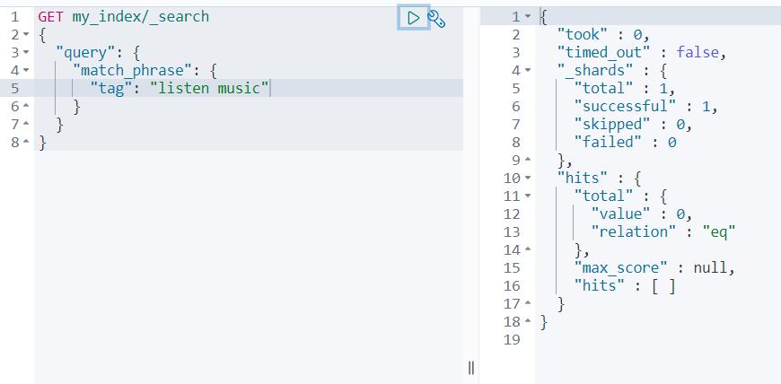 ElasticSearch 中 match、match_phrase、query_string 和 term 的区别