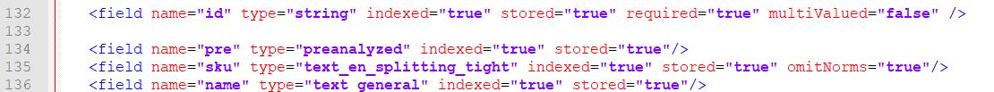 Solr 导入 数据库数据