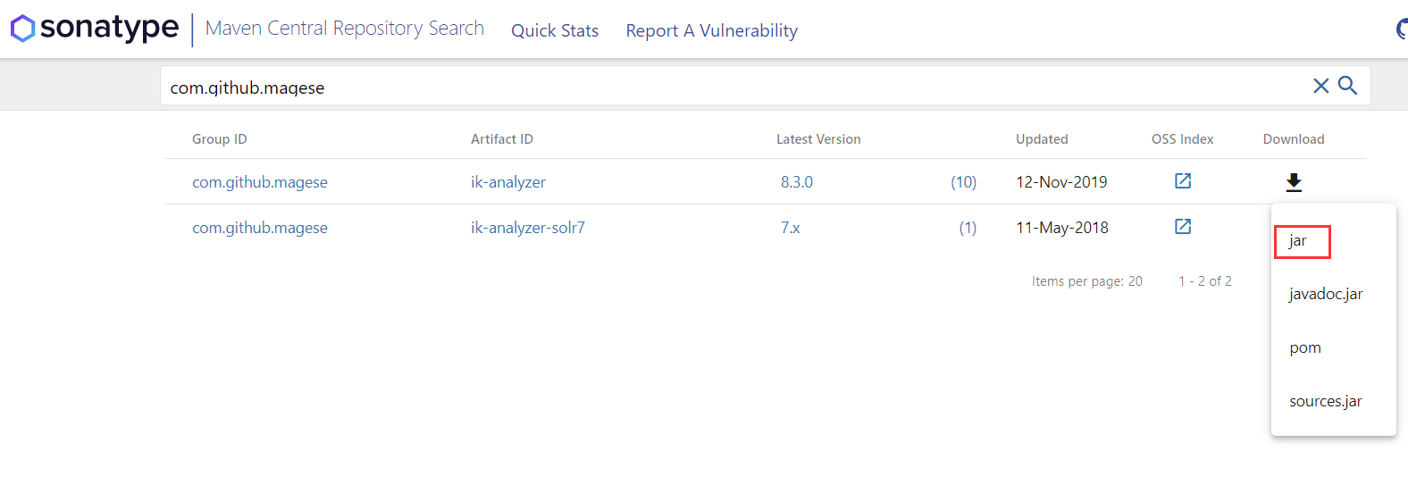 solr8.6.2 客户端界面介绍及配置中文分词器