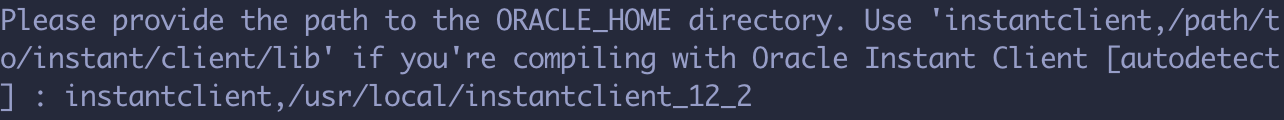 Laravel 使用 Oracle 数据库