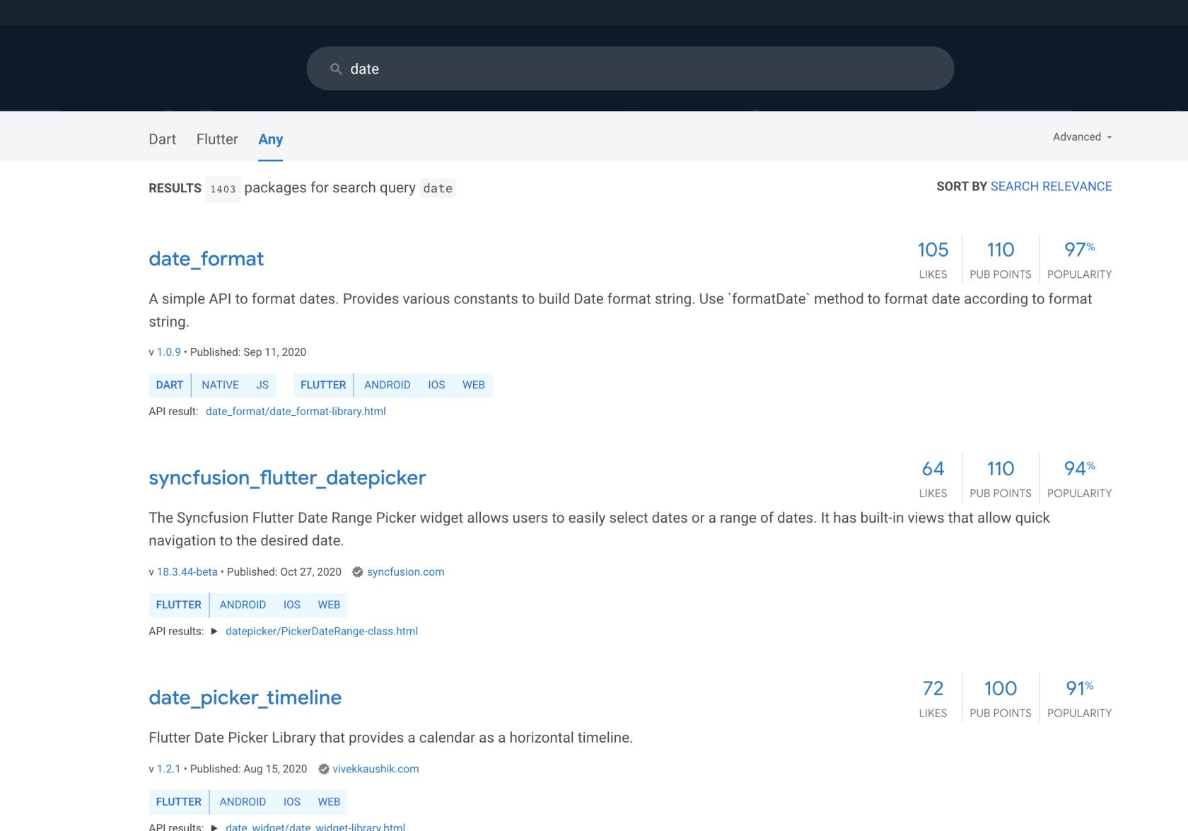 请问下flutter社区有没有比较好用(类似npm  moment)的日期库?(自己搜过了没有)
