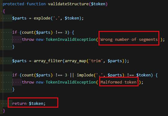 tymon/jwt-auth 的简单使用与浅度刨析(使用自定义Model)