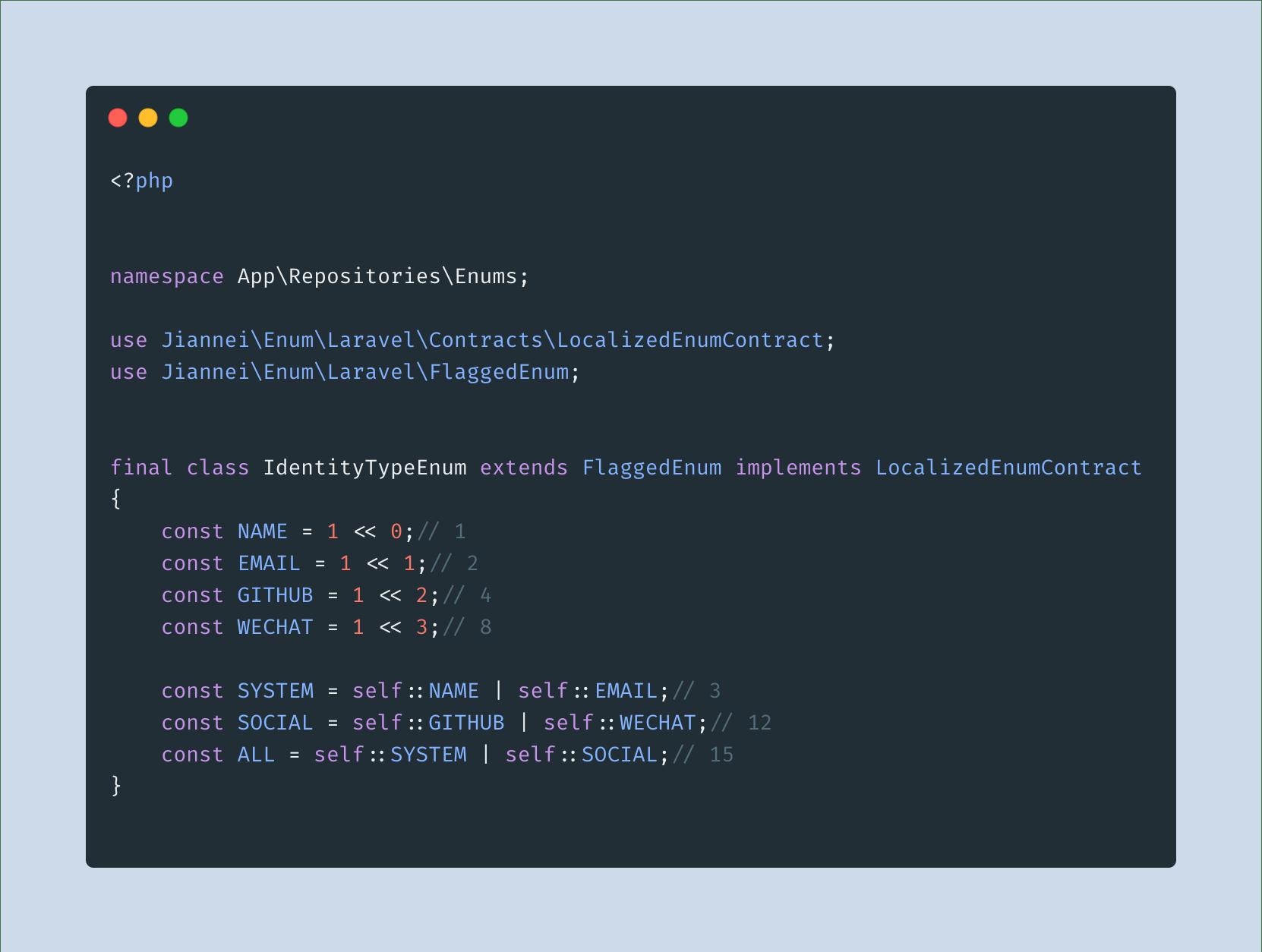 教你更优雅地写 API  之「枚举使用」
