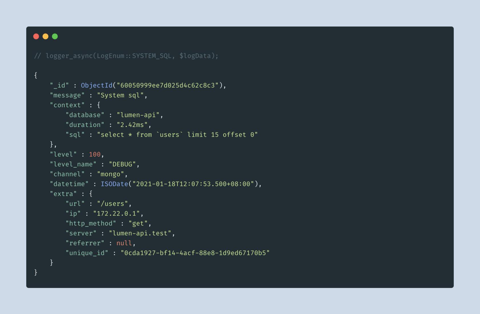 教你更优雅地写 API 之「记录日志」