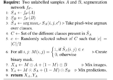 ClassMix:基于分割的数据增强的半监督学习