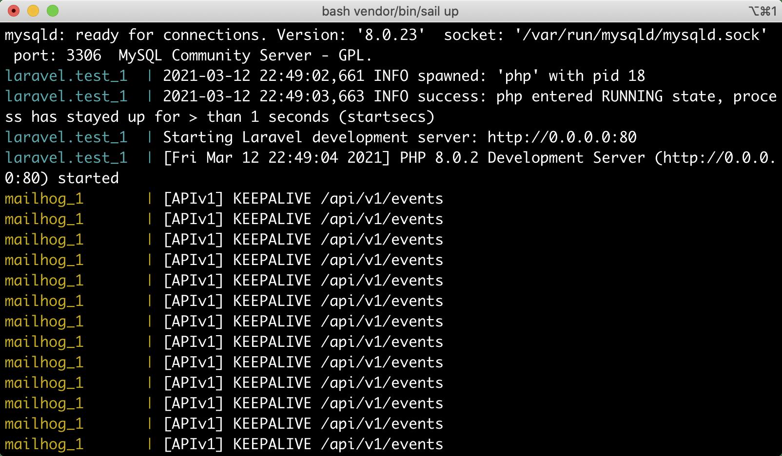 搭建 Laravel Sail 开发环境 - MacOS