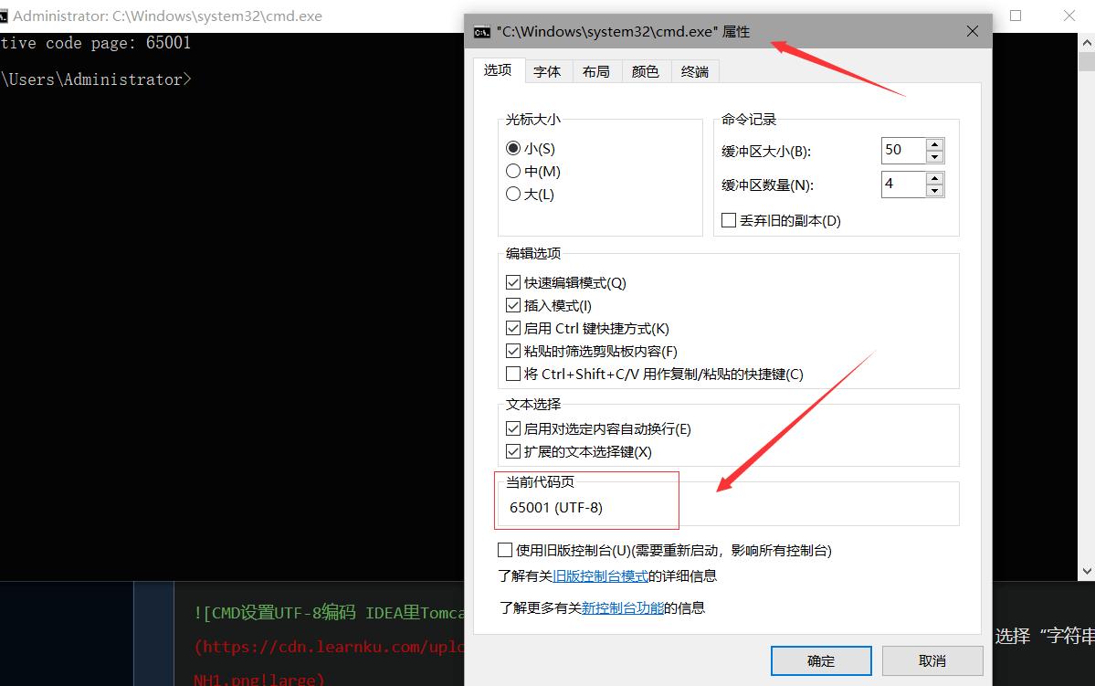 CMD设置UTF-8编码 IDEA里Tomcat Console中文乱码问题解决