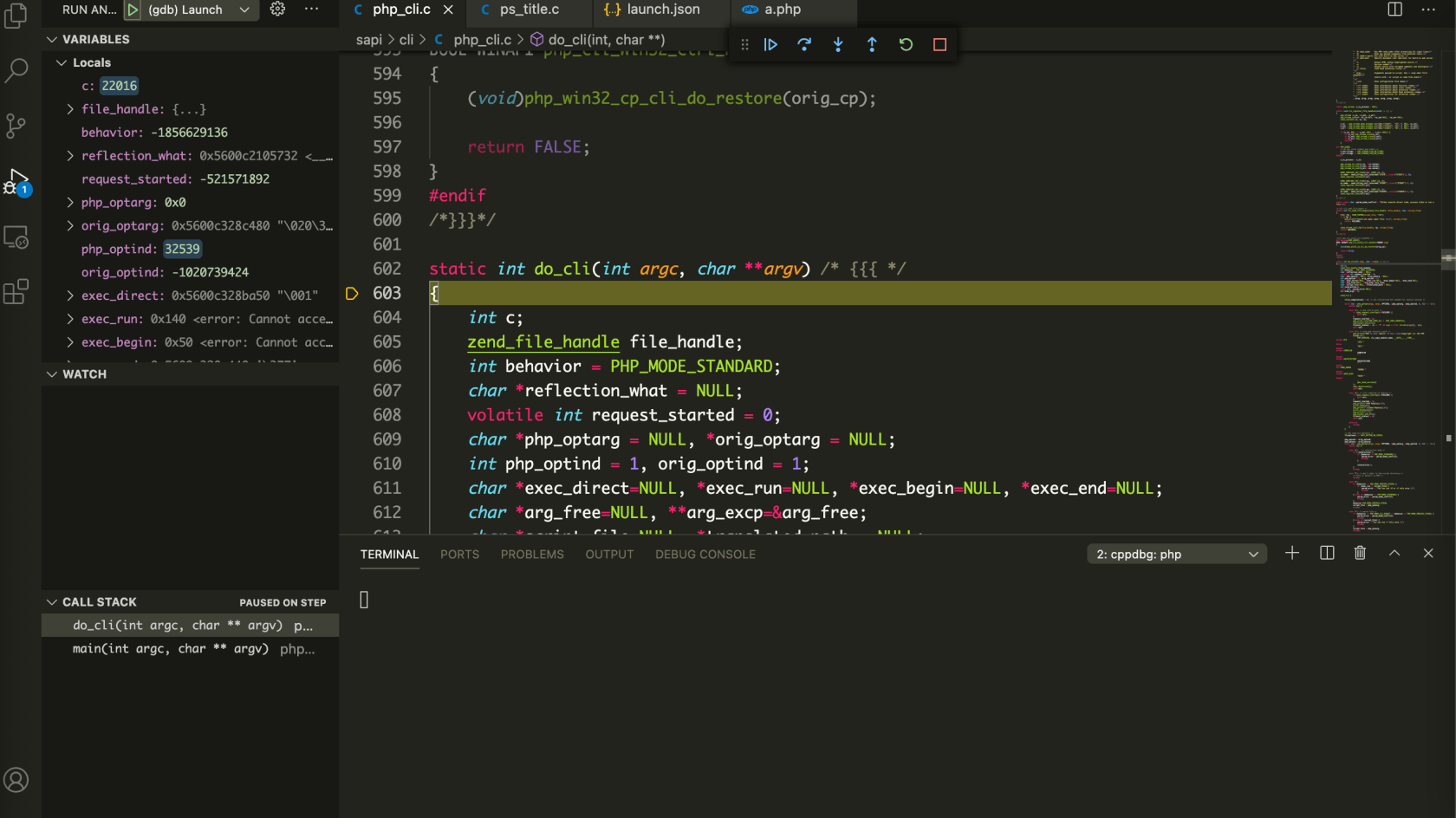 轻松两步,搭建断点调试 PHP 源码环境