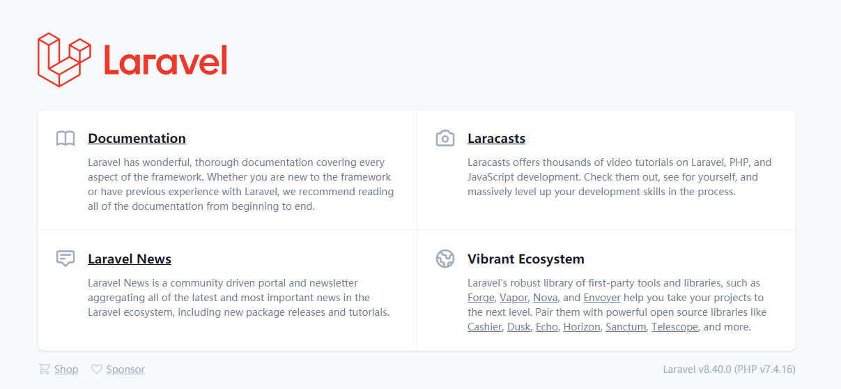 将 Laravel 开发环境由 Homestead 迁移到 Laravel Sail ( Docker ) 完整详细教程
