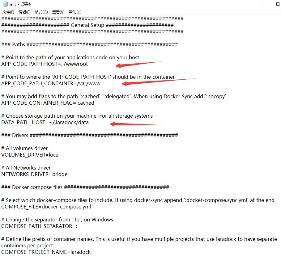 Windows 环境中使用 Docker 配置 LaraDock