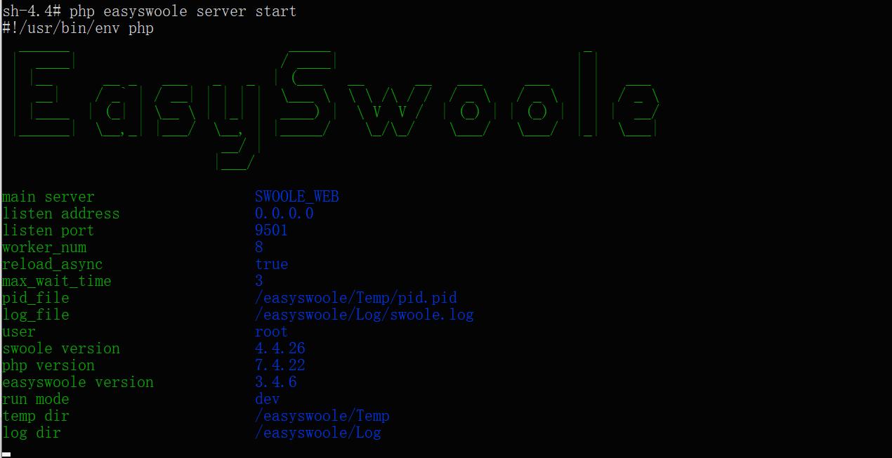 win 环境使用easyswoole利用docker进行开发